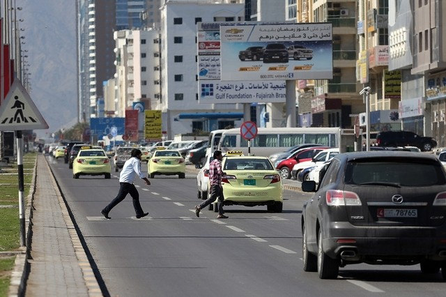 fujairah traffic fines