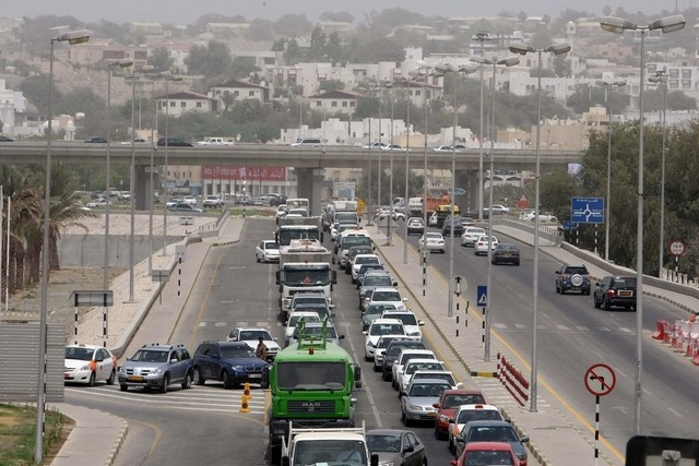 oman traffic fines